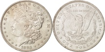 Us Coins - United States, Morgan Dollar, 1883, New Orleans, Silver, KM:110