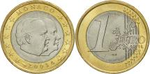 World Coins - Monaco, Euro, 2003, MS(63), Bi-Metallic, KM:173