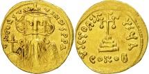 Constans II, Solidus, Constantinople, AU(50-53), Gold, Sear:956