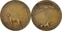 World Coins - France, Medal, Chasse, Club Saint Hubert du Nord, EF(40-45), Bronze