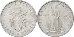 World Coins - VATICAN CITY, 2 Lire, 1965, KM #77.2, , Aluminum, 18, 0.78