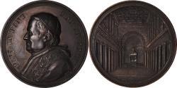 World Coins - Vatican, Medal, Pie IX, Basilique Santa-Maria de Trastevere, 1874, Bianchi