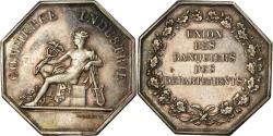 World Coins - France, Token, Savings Bank, Union des Banquiers des Départements, Domard