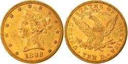 Us Coins - Coin, United States, Coronet Head, $10, Eagle, 1882, U.S. Mint, Philadelphia