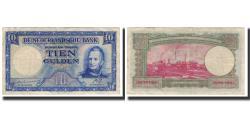World Coins - Banknote, Netherlands, 10 Gulden, 1945-05-07, KM:75a, VF(30-35)