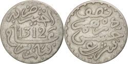 World Coins - Morocco, Moulay al-Hasan I, 1/2 Dirham, 1894, Paris, , Silver, KM:4