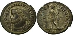 Ancient Coins - Coin, Constantius I, Follis, Lyon - Lugdunum, AU(55-58), Copper, Cohen:122