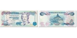 World Coins - Banknote, Bahamas, 100 Dollars, 2000, UNDATED (2000), KM:67, UNC(65-70)