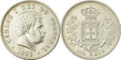 World Coins - Coin, Portugal, Carlos I, 500 Reis, 1892, , Silver, KM:535
