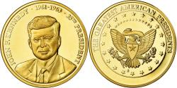 Us Coins - United States of America, Medal, Les Présidents des Etats-Unis, J. Kennedy