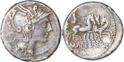Ancient Coins - Coin, Mallia, Denarius, 111-110 BC, Rome, , Silver, Crawford:299/1b