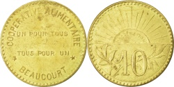 World Coins - France, 10 Centimes, , Brass, Elie #10.1, 3.58