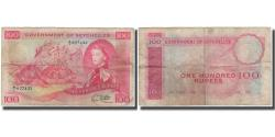 World Coins - Banknote, Seychelles, 100 Rupees, 1972-01-11, KM:18c, F(12-15)