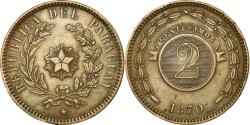 World Coins - Coin, Paraguay, 2 Centesimos, 1870, , Copper, KM:3