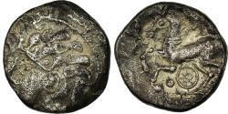 Ancient Coins - Coin, Ambiani, Area of Amiens, Denarius, , Silver, Delestrée:351