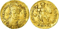 Coin, Honorius, Solidus, 403-408, Constantinople, , Gold, RIC:43