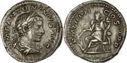 Ancient Coins - Coin, Elagabalus, Denarius, 219, Roma, , Silver, RIC:21