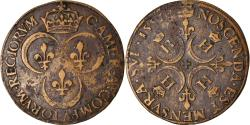 World Coins - France, Token, Royal, Henri II, Chambre des Comptes du Roi, 1552,