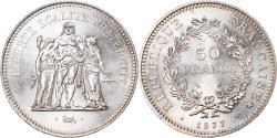 World Coins - Coin, France, Hercule, 50 Francs, 1977, Paris, , Silver, KM:941.1