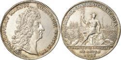 World Coins - France, Token, Louis XIV, Chambre de Commerce de Rouen, History, 1712