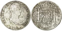 World Coins - Coin, Peru, Ferdinand VII, 8 Reales, 1816, Lima, , Silver, KM:117.1