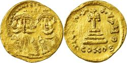 Ancient Coins - Coin, Heraclius, Solidus, 610-641 AD, Constantinople, , Gold, Sear:743