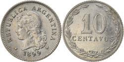 World Coins - Coin, Argentina, 10 Centavos, 1899, , Copper-nickel, KM:35