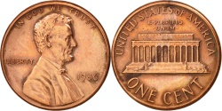 Us Coins - United States, Lincoln Cent, 1986, Philadelphia, , KM:201b