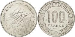 World Coins - CAMEROON, 100 Francs, 1972, Paris, KM #E15, , Nickel, 6.97