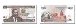 World Coins - Kenya, 50 Shillings, 2006, KM #47b, UNC(65-70), BW6753246