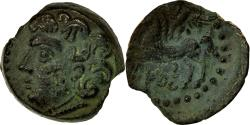 Ancient Coins - Coin, Bituriges, Bronze, 60-50 BC, AU(50-53), Bronze