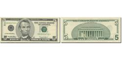 Us Coins - Banknote, United States, Five Dollars, 1999, 1999, KM:4519@star, UNC(65-70)