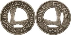 Us Coins - United States, Token, Lynchburg Transit Company