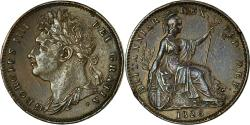 World Coins - Coin, Great Britain, George IV, Farthing, 1826, London, , Copper