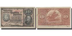 World Coins - Banknote, Argentina, 10 Centavos, 1890, 1890-08-21, KM:210, AU(50-53)