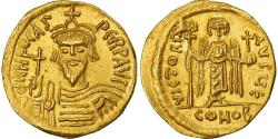 Ancient Coins - Coin, Phocas, Solidus, 607-610, Constantinople, , Gold, Sear:620