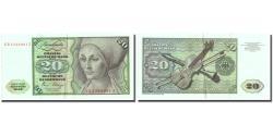 World Coins - Banknote, GERMANY - FEDERAL REPUBLIC, 20 Deutsche Mark, 1980, 1980-01-02