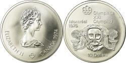 World Coins - Coin, Canada, Elizabeth II, 10 Dollars, 1974, Ottawa, , KM 93