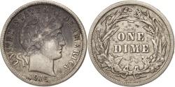 Us Coins - United States, Barber Dime, Dime, 1916, U.S. Mint, Philadelphia,