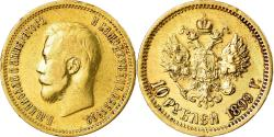 Ancient Coins - Coin, Russia, Nicholas II, 10 Roubles, 1899, St. Petersburg, , Gold