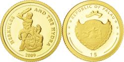 World Coins - Palau, Dollar, Hercule, 2009, , Gold