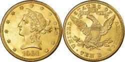 Us Coins - Coin, United States, Coronet Head, $10, 1901, San Francisco,,KM 102