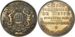 World Coins - France, Token, Savings Bank, Caisse Commerciale de Dieppe, Chevalier,