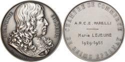 World Coins - France, Medal, Colbert, Chambre de Commerce de Reims, 1951, Depaulis,