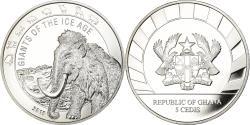 World Coins - Coin, Ghana, Géants de l'Age de Glace - Mamouth, 5 Cedis, 2019, Proof