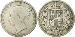 World Coins - Coin, Great Britain, Victoria, 1/2 Crown, 1885, , Silver, KM:756
