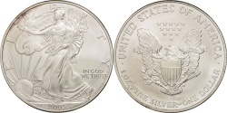 Us Coins - United States, Dollar, 2003, U.S. Mint, Philadelphia, , Silver, KM:273