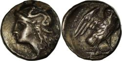 Ancient Coins - Coin, Calabria, Drachm, 280-272 BC, Tarentum, , Silver, HN Italy:1018
