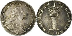 World Coins - Coin, Great Britain, George III, Penny, 1800, , Silver, KM:614