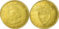 World Coins - Coin, Colombia, 16 Pesos, Diez I Seis, 1837, Popayan, , Gold, KM:94.2